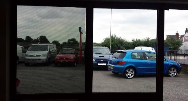 Part Installed at Warrington service centre to the left hand window